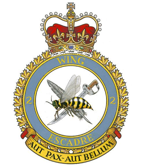 Badge of the 2nd Tactical Aviation Wing