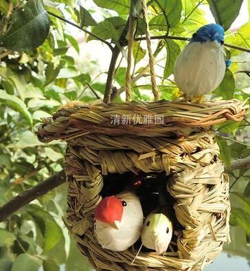 pet fornisce uccello fornisce rattan gabbia di uccello gaiolas