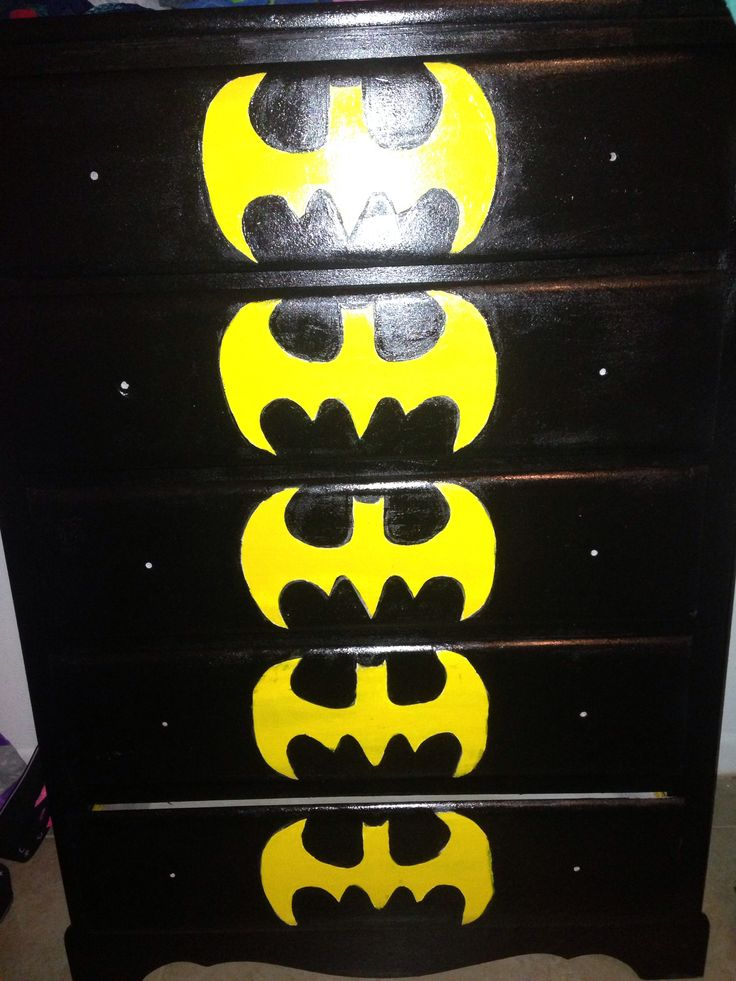 DIY batman dresser