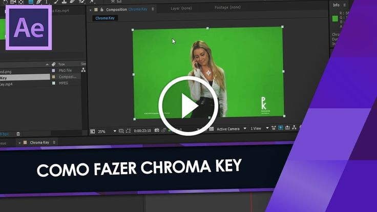 Como fazer CHROMA KEY no AFTER EFFECTS                                           ★ Baixe os arquivos aqui: ▶ http://www.mediafire.com/download/qk67sk4xefri527/Chroma_Key.rar ▶ Site: http://brainstormtutoriais.com ▶ Facebook: http://fb.com/BrainstormTutoriais ▶ Twitter: http://twitter.com/BrainstormT ­ source                      ... Adobe After Effects (Software), after effects, Chroma Key (Location), como fazer chroma key, edição..., greenscreen, tutorial af