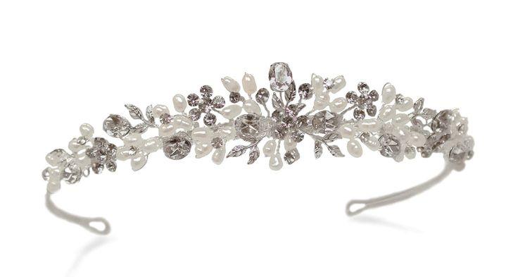Delicate bridal tiaras and accessories @ Mia Sposa Huddersfield 01484421900
