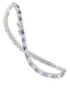 Bracelets: Silver Cubic Tennis Bracelet!