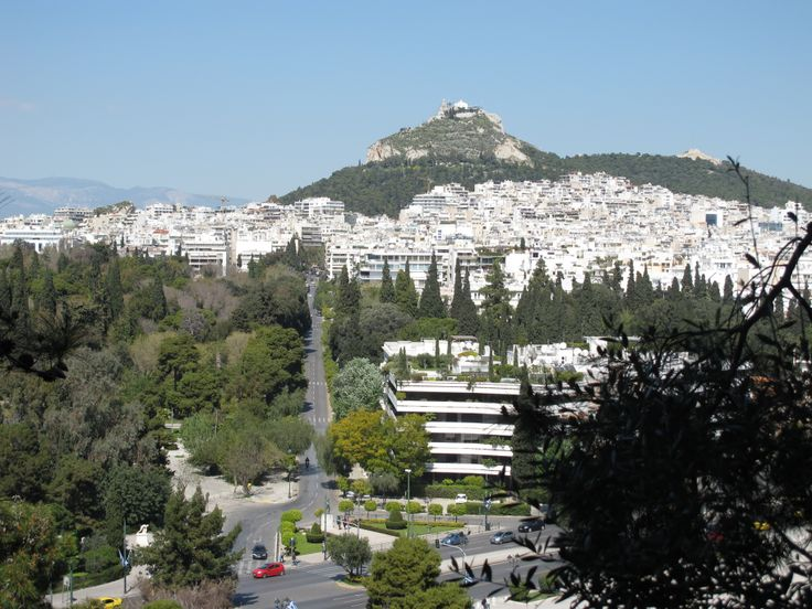 Athens Lycabettus Hill