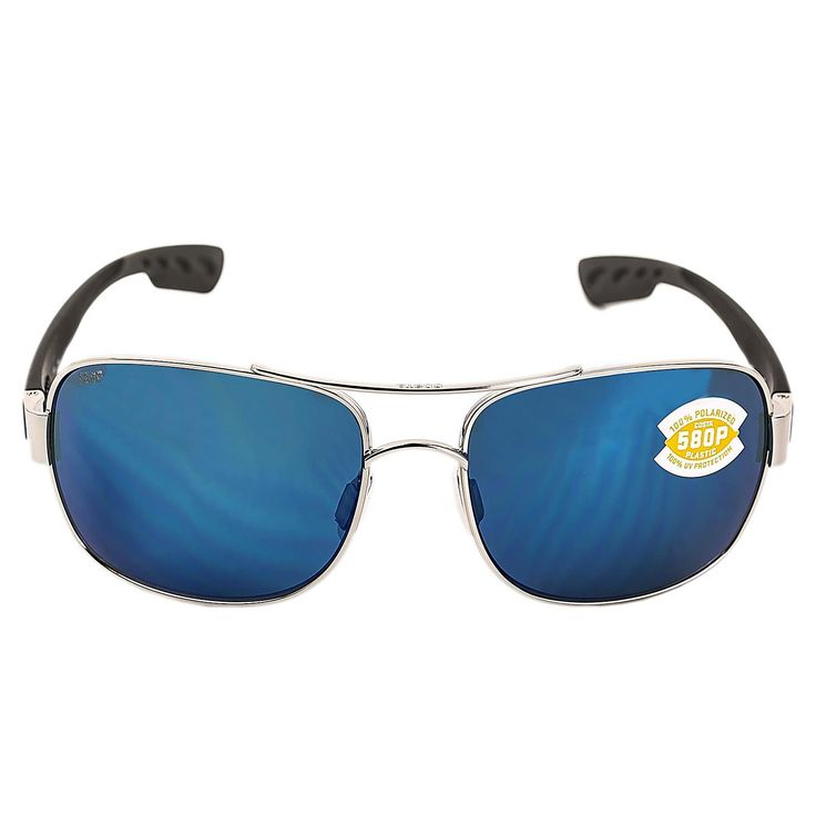 Costa Del Mar CC21OBMP Women's Cocos Polarized Blue Mirror 580P Lenses Palladium Monel Frame Sunglasses