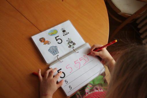 psaní čísel