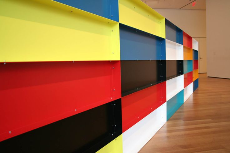 Donald Judd 'Untitled' Work.