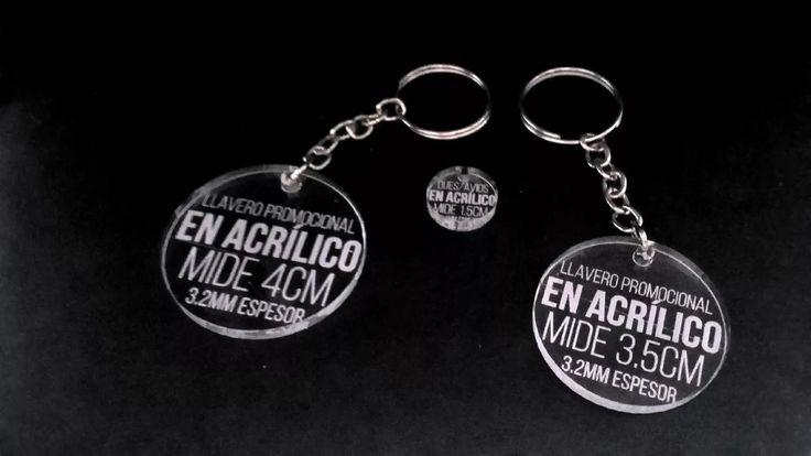 llavero acrilico  4cm laser promocionales souvenir