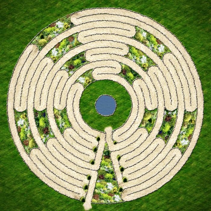 Garden Prayer Labyrinth