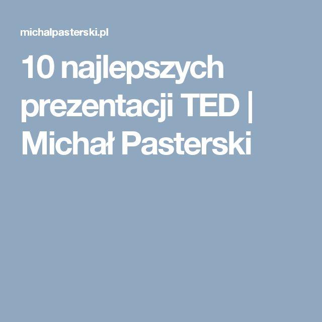 10 najlepszych prezentacji TED | Michał Pasterski