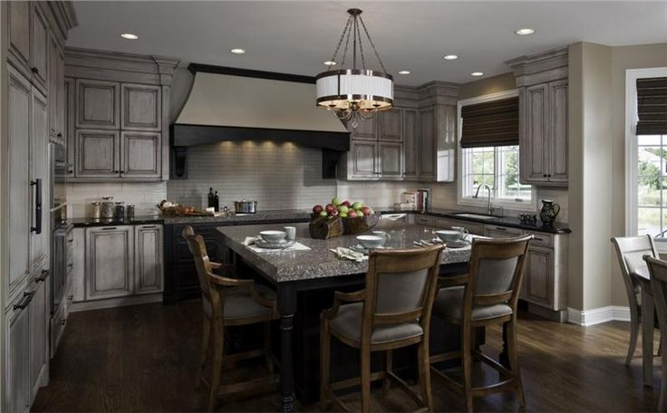 Elegant traditional kitchen by susan fredman on for Elegant traditional kitchens