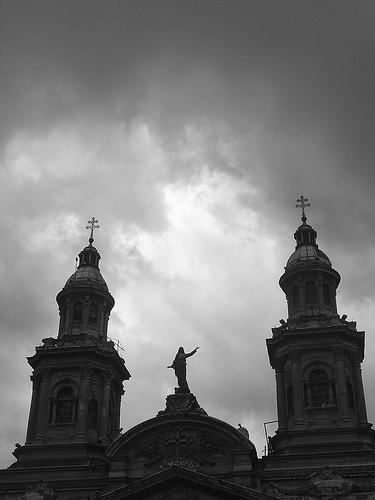 <3 fotografare la città in inverno, Santiago di Cile per tre anni