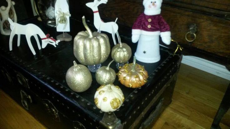 Pumpkin for christmas