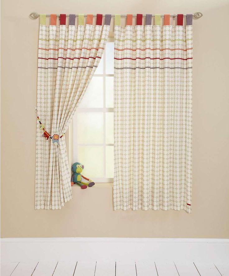 Jamboree - Tab Top Curtains (132 x 160cm) - Offers - Mamas & Papas