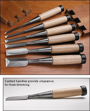 Premium Japanese Dovetail Chisels - Woodworking