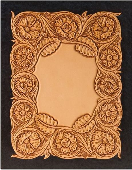 Carving leather and google on pinterest for Leather sheets for crafting