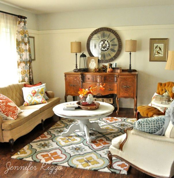 Best 25+ Fall Living Room Ideas On Pinterest