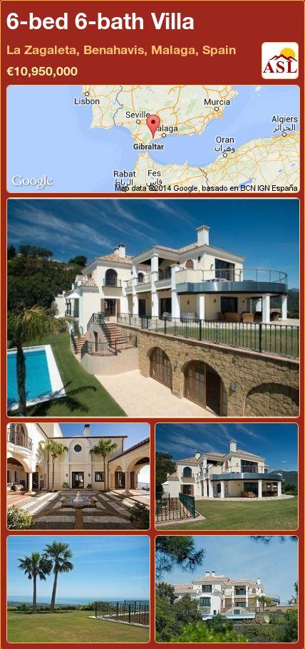 6-bed 6-bath Villa in La Zagaleta, Benahavis, Malaga, Spain ►€10,950,000 #PropertyForSaleInSpain