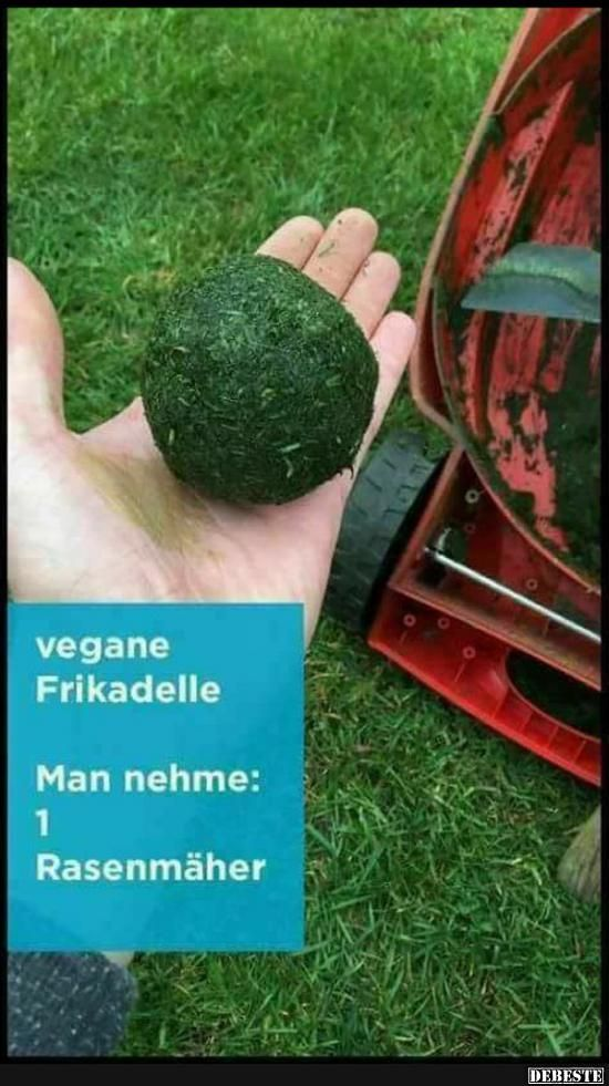 Vegane Frikadelle..