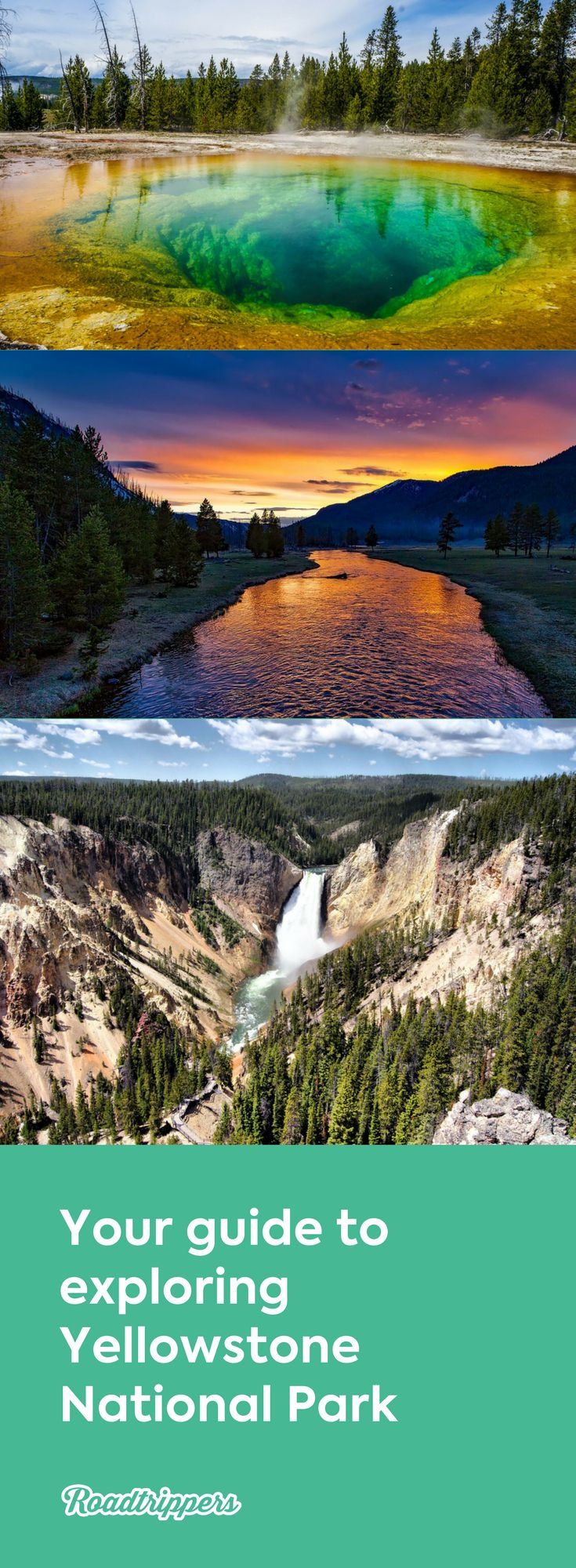 Yellowstone National Park Guide America s 1st National Park