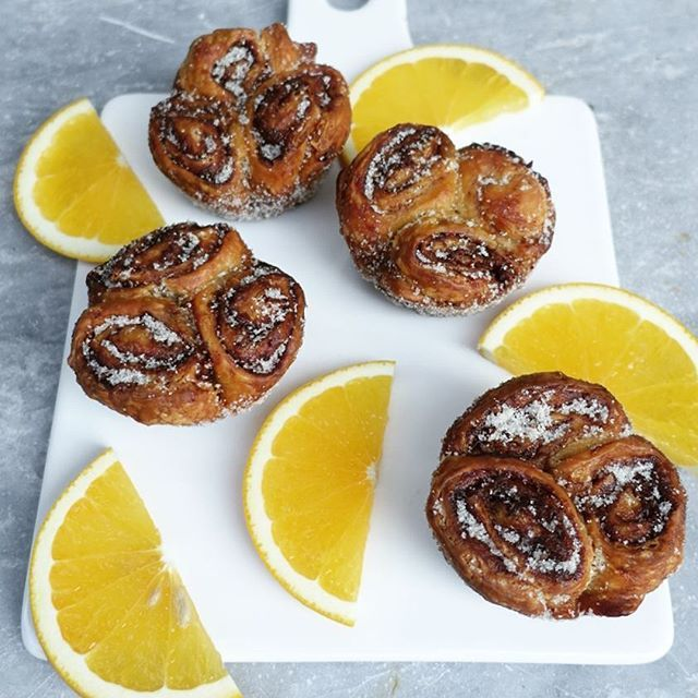 Morning buns from the Tartine recipe...ah-ma-zing! The orange zest mixed in the…