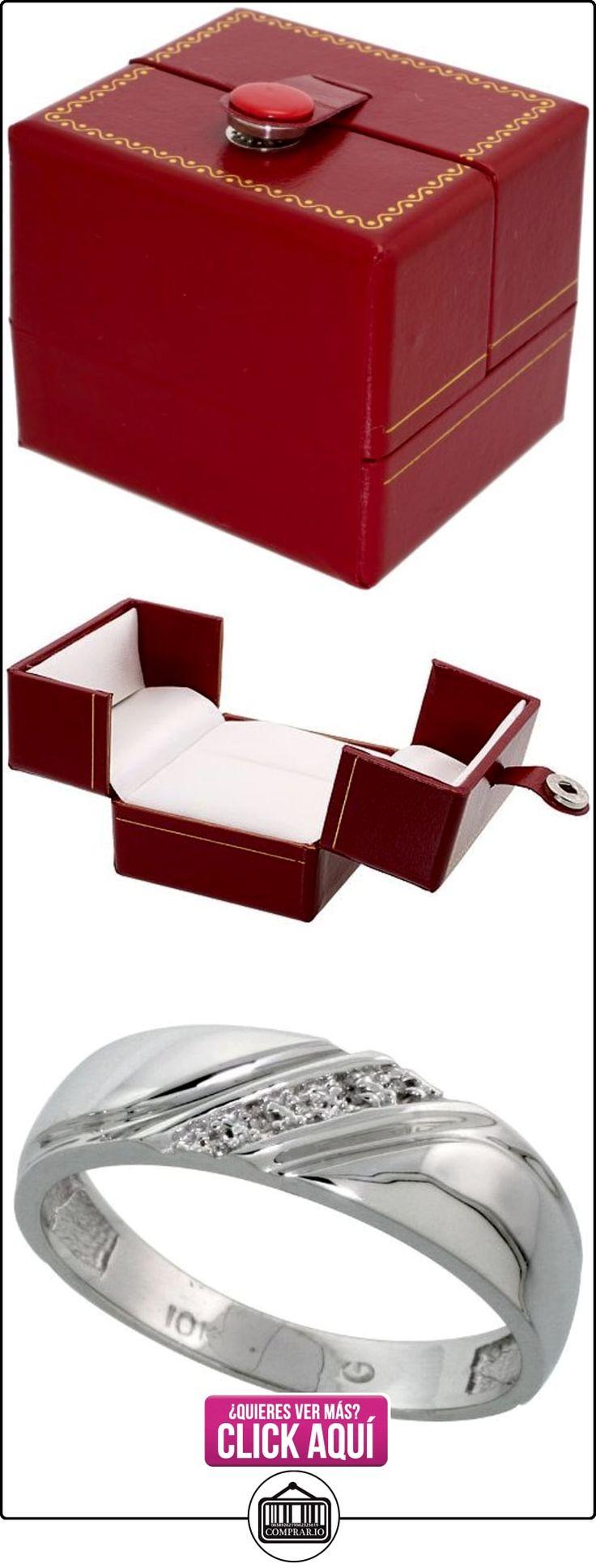 Revoni - Juego de alianzas de oro blanco  ✿ Joyas para hombres especiales - lujo ✿ ▬► Ver oferta: http://comprar.io/goto/B005M3DPF2