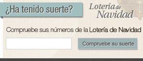 Comprobar Lotería Navidad 2014