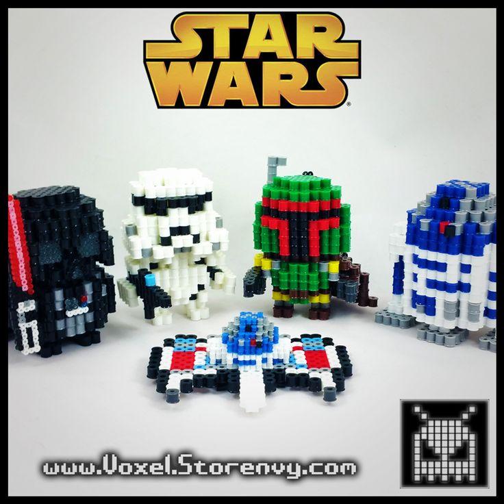 3D Star Wars perler beads by VoxelPerlers
