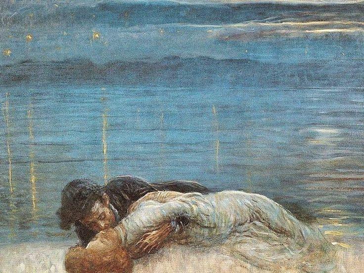 Angelo Dall'Oca Bianca Падающие звезды 1913