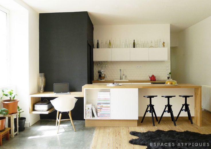 Nantes : Appartement d'Architecte entièrement rénové proche gare