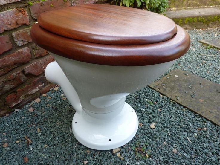 Vintage toilet seat families