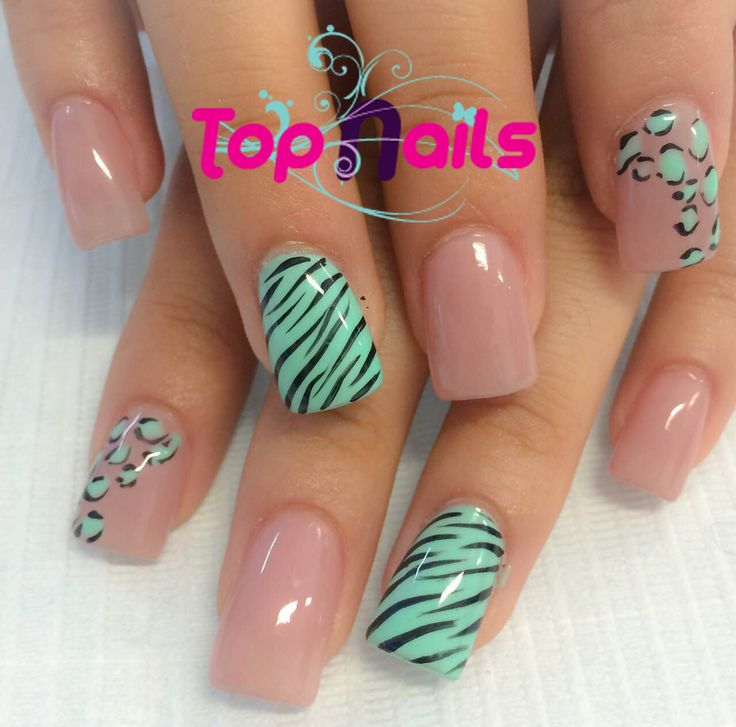 Sencillo y coqueto dise o de topnails u as decoradas for Decorado de unas facil y sencillo