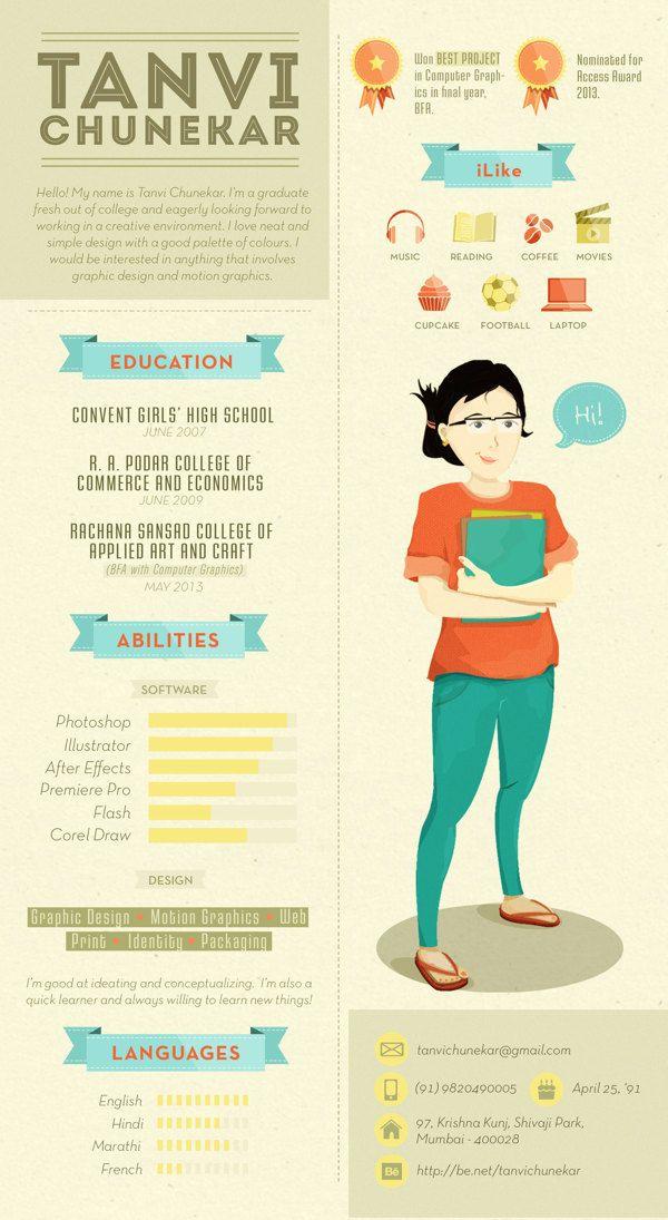 17 Best ideas about Graphic Design Cv on Pinterest | Cv design ...