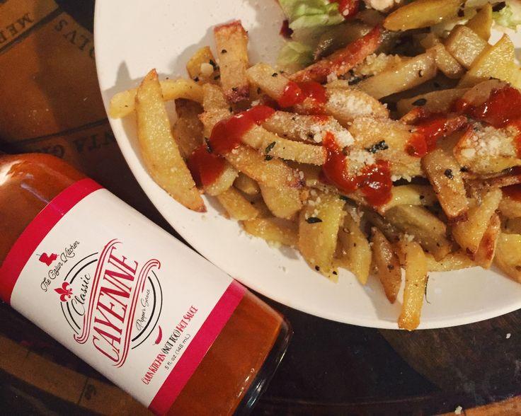 Cajun Duck Fat Fries – The Cajun Kitchen