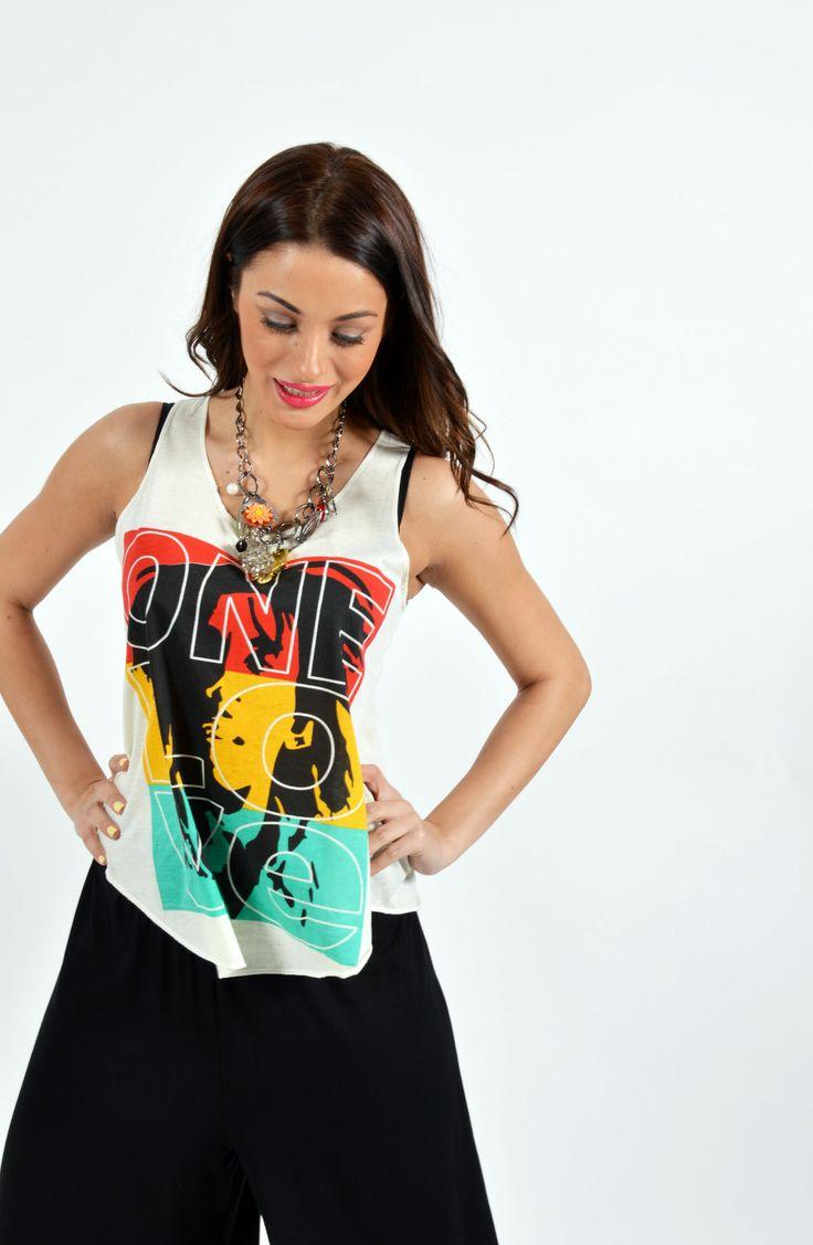Χρωματιστό T-shirt