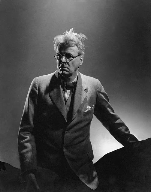 William Butler Yeats. Photograph: Edward Steichen.