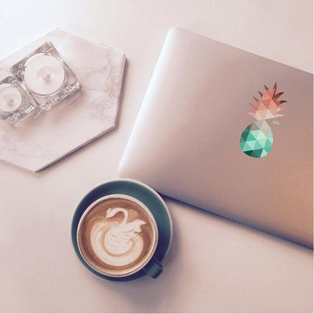 Pineapple Macbook Decal Stickers Macbook Pro by JeffTheRaccoon