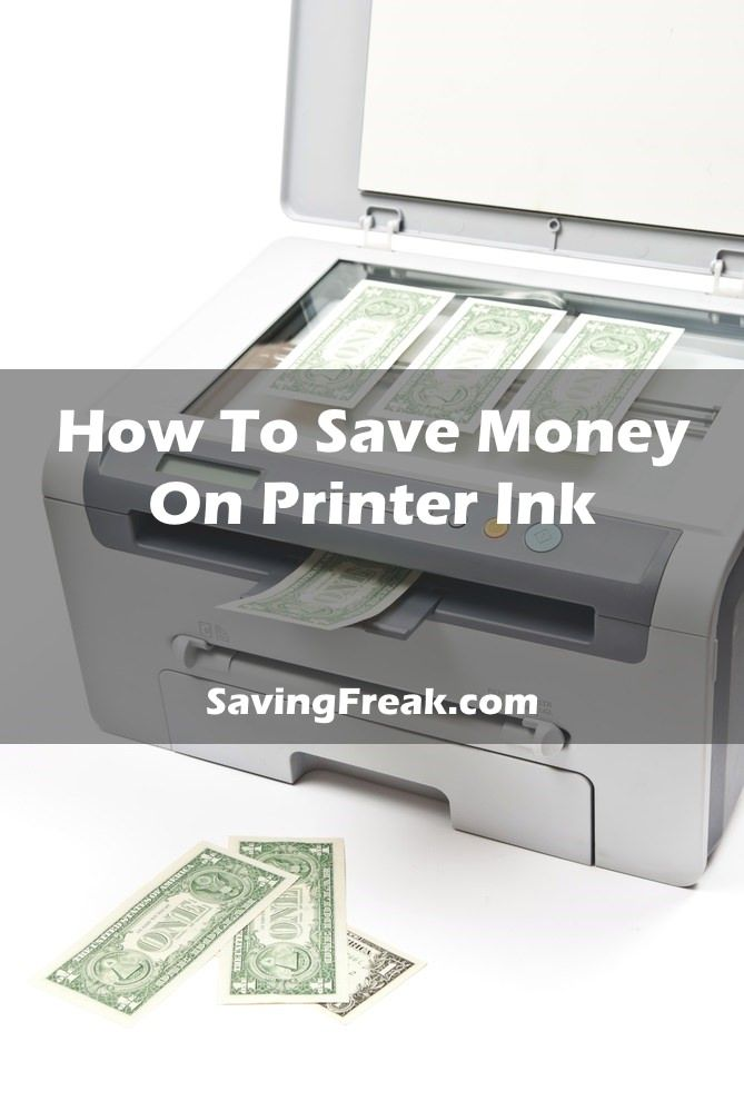 Printer ink costs are out of hand. Learn how to save money by using less ink and by buying the cheapest printer cartridges.