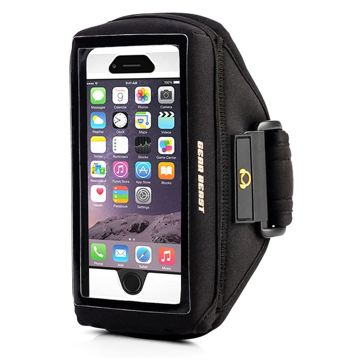 best choice. may not fit otterbox.  Case Compatible Sports Armband Running iPhone 6s Plus 6 Plus Note 5 4 Otterbox  #GearBeast