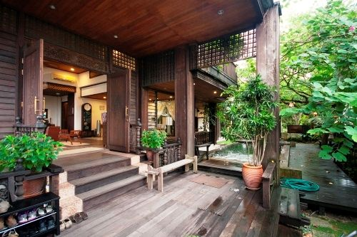 13 best images about moden malay house on pinterest for Modern kitchen in traditional house