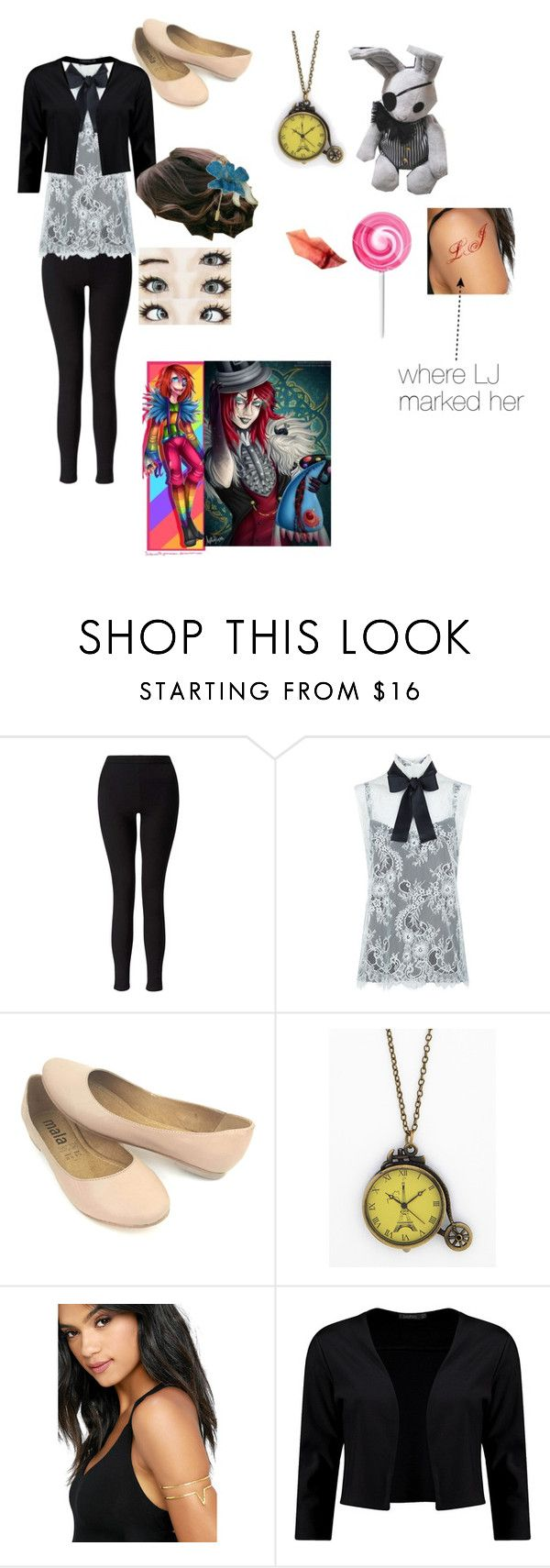 """""""Joel Sophie Grossman outfit 2"""" by laughing-jack5 ❤ liked on Polyvore featuring Miss Selfridge, Philosophy di Lorenzo Serafini, Ciel, Natalie B, Boohoo and NOVICA"""