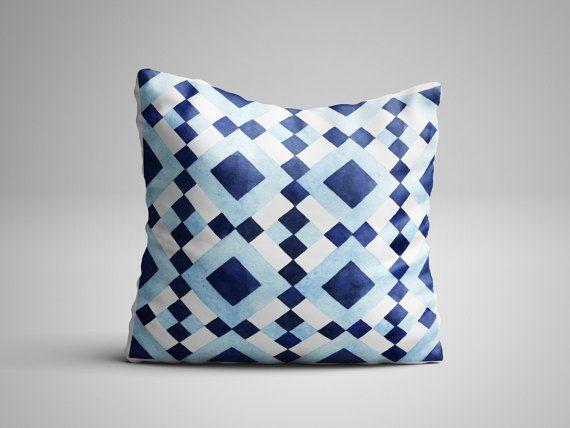 Midcentury Modern Pillow - Geometric Design - Throw Pillow with insert - Modern Chic Decorative Pillows - Geometric Pillow