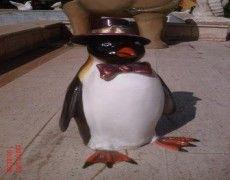 Mr. Penguin Statue