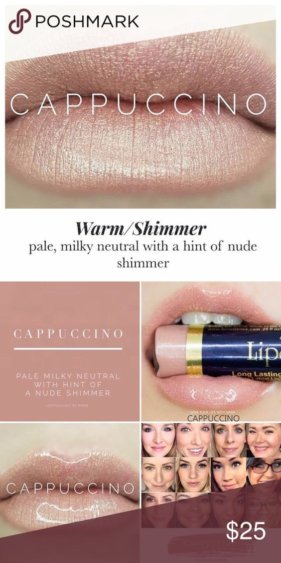 Lip Sense Cappuccino (NWT) Lip Sense is a waterproof, smudge proof, and non transferring lip color that can last up to 18hrs if worn with the Lip Sense gloss. This tube is brand new and never opened. Lip Sense Makeup Lipstick