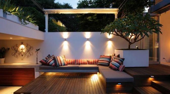 Dekorasi Cantik Untuk Halaman Belakang Rumah Mini - Lifestyle Liputan6.com