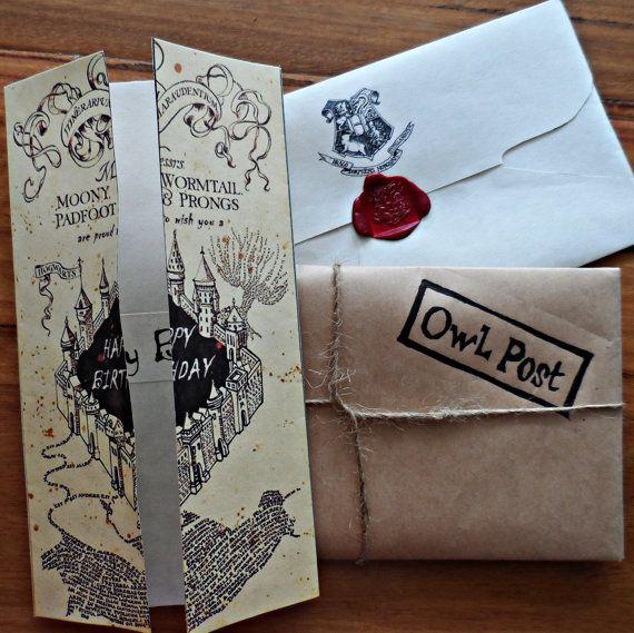 Картинки, открытки с гарри поттером с днем рождения своими руками