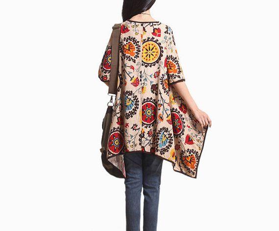 Leisure asymmetrical Short sleeve dress Women gown Women by MaLieb