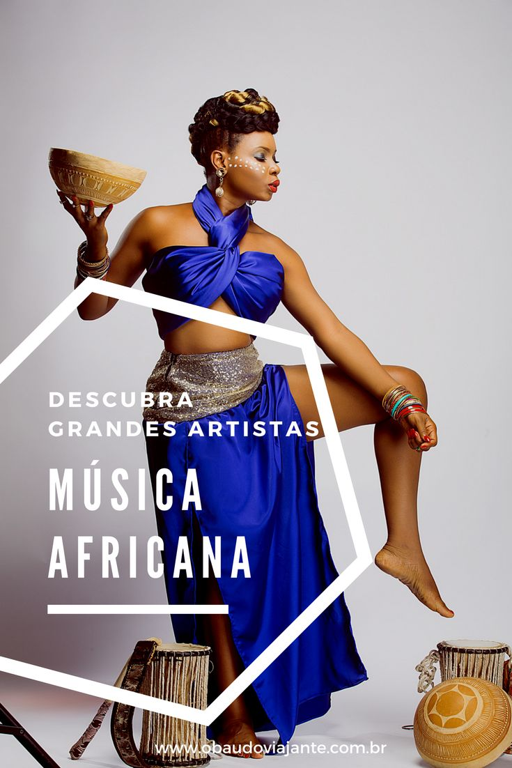 Você ama viajar? Sabia que dá pra fazer isso mesmo sem sair de casa?  Te convidamos para fazer uma viagem pela música africana, vamos?!