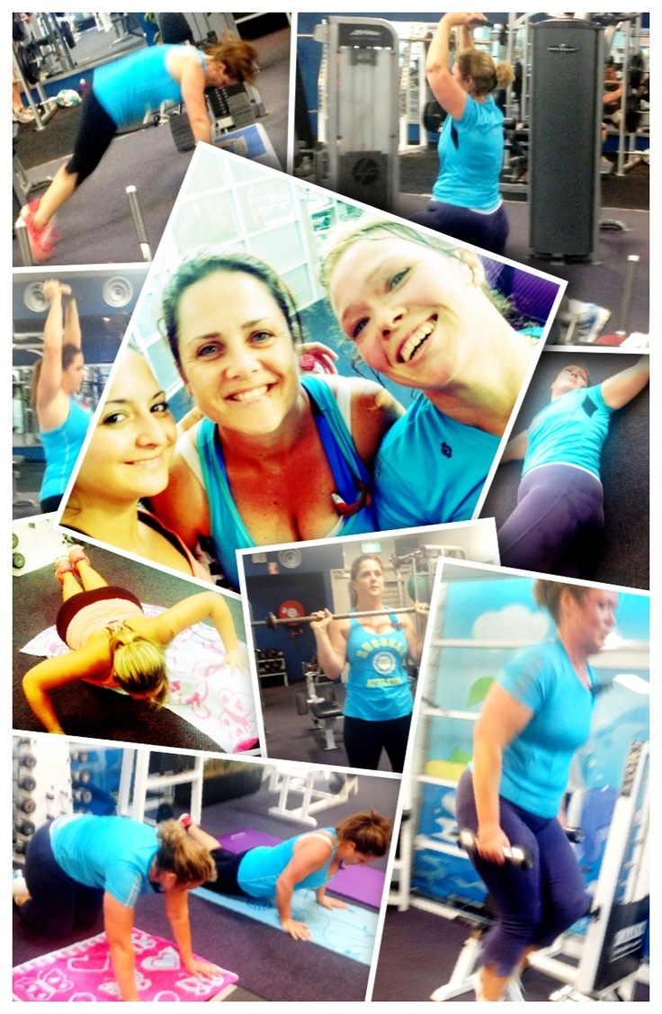 12WBT SS Workout with friends ❤❤
