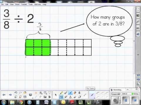 Les 25 meilleures ides de la catgorie diviser les fractions par dividing fractions with fraction models lesson 112 youtube ccuart Gallery