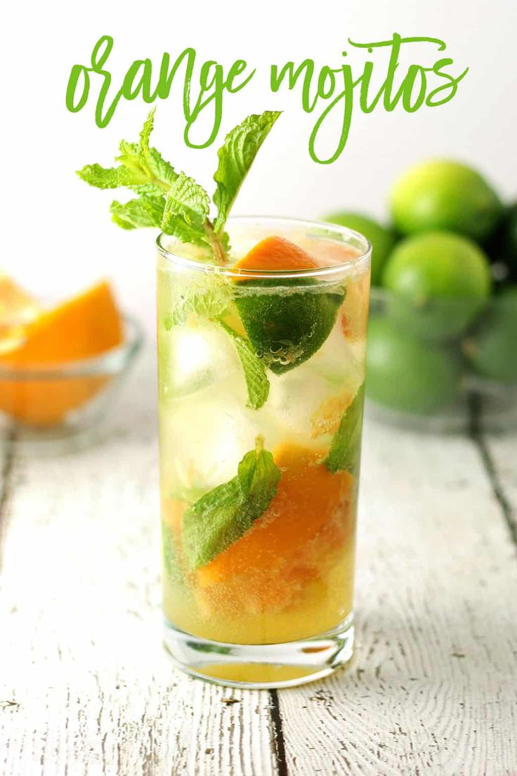 Orange mojitos are the perfect refreshing cocktail recipe. The ingredients are s…